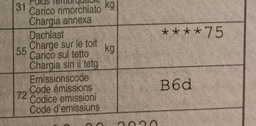 Emissionscode-B6d